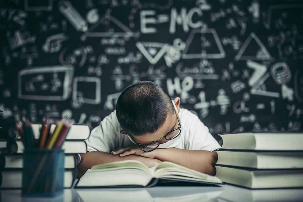 exámenes y estrés